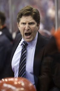 Mike Babcock Yelling